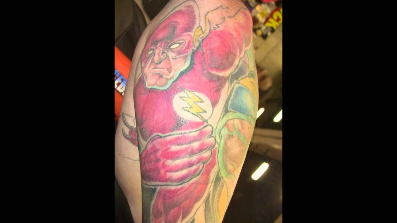 superhero tattoos youtube