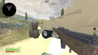 The Best COD WWII Rip off In Roblox ( Roblox WWII Gameplay)