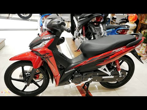 Honda Wave RSX 110i 2020 - Đỏ Đen Bánh Mâm - Revo 110i 2020 Red - Walkaround