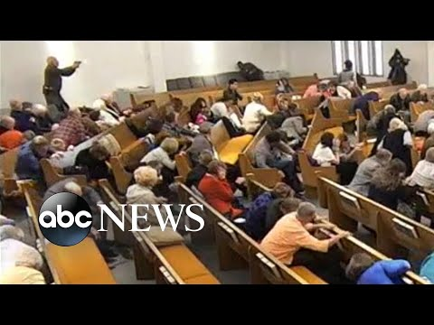 بالفيديو: قتيلان وجريح جراء اطلاق نار في كنيسة بولاية تكساس الاميركية