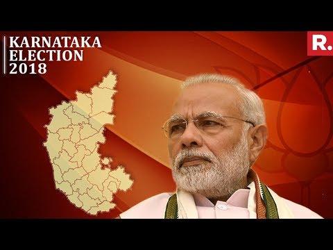 PM Narendra Modi Sounds Karnataka Poll Bugle | Karnataka Elections 2018