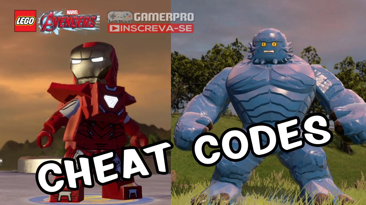 marvel lego 3ds cheats