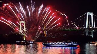 [ 4K Ultra HD ] 東京の花火大会 Fireworks Festivals in Tokyo ( Shot on RED )
