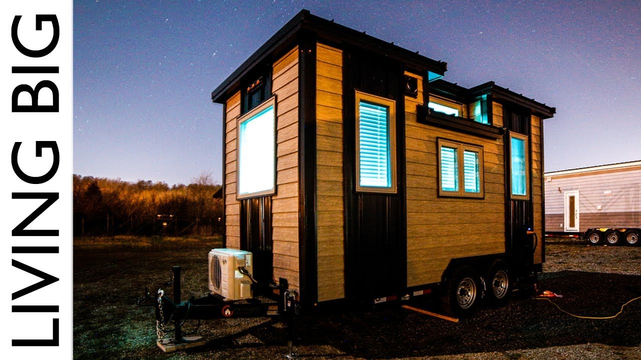 Living Big In A Tiny House Our Traveling Tiny Home In