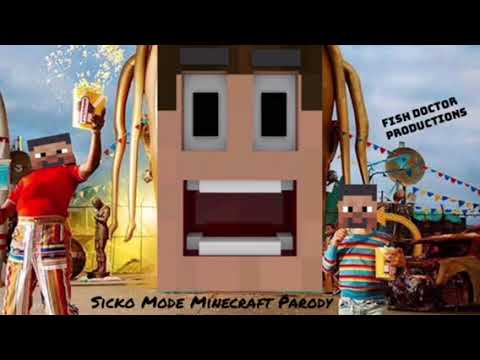 Travis Scott Sicko Mode Minecraft Parody