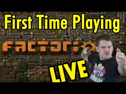 Factorio - First Time Playing LIVE!  xBeauGaming