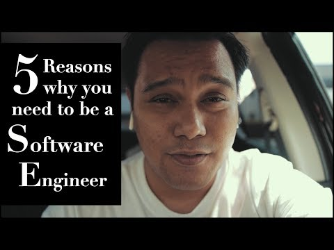 5 Amazing reasons why you need to be a software engineer
