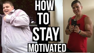 Motivation Secrets to Losing & KEEPING OFF Weight!
