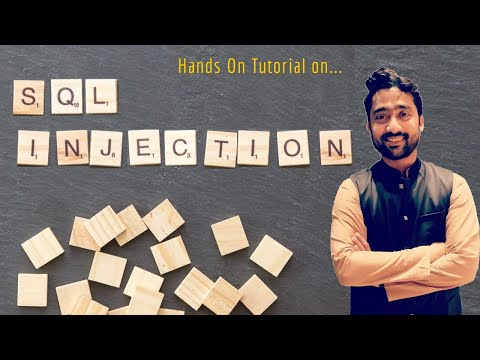 SQL Injection Hands On | Tutorial Series On Cryptography And System Security | Sridhar Iyer