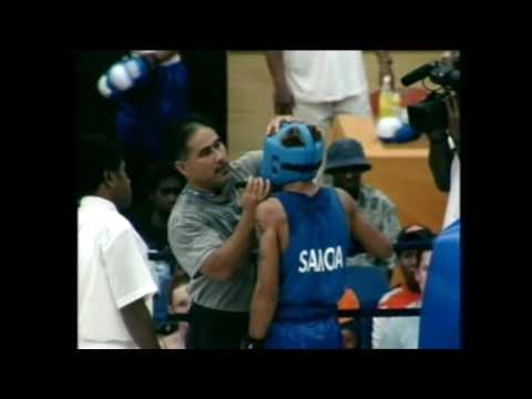 South Pacific Games 2003 Boxing  Samoa vs Tahiti Feather Weight M3