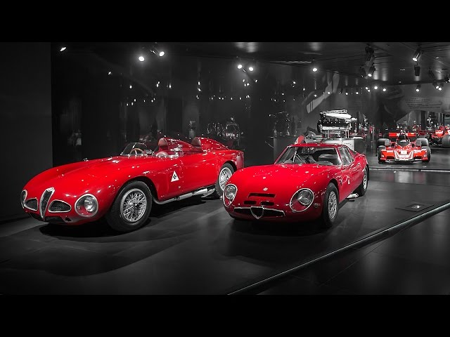 Inside The Alfa Romeo Museum