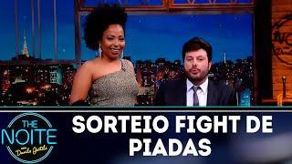 Sorteio quartas de final Fight de piadas | The Noite (12/11/18)