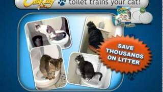 Cat Toilet Training Kit - CitiKitty As Seen on TV Commercial