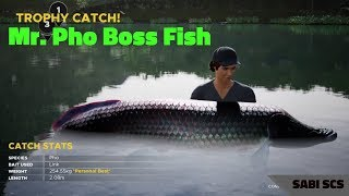 Fishing Sim World - Mr.Pho Boss Fish Arapaima, Gillhams resorts in Thailand