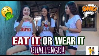 EAT IT OR WEAR IT CHALLENGE  | Quen And Trish