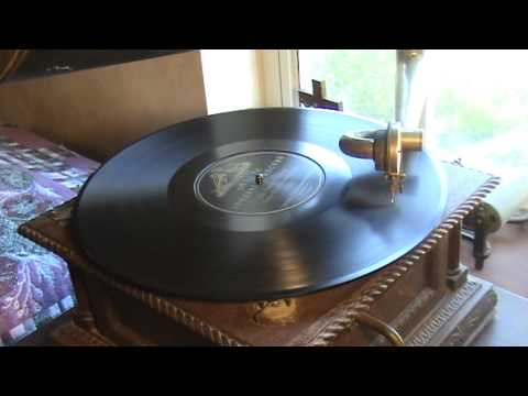 1903 14-INCH Victor Deluxe Special Record Played On Victor Model 'D' Phonograph