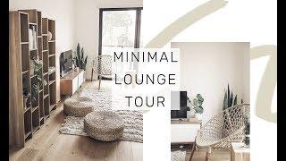 Newly created Roomtour video from Rachel Aust: The Living Room | MINIMAL ROOM TOUR | Rachel Aust