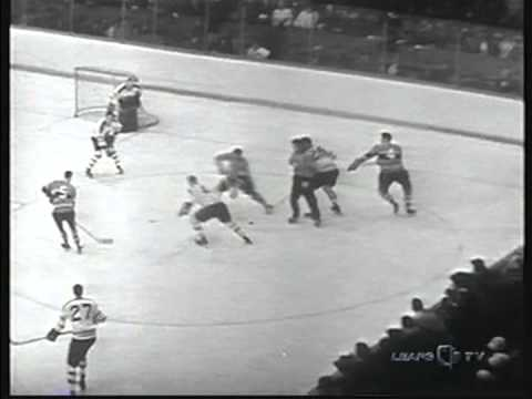 1960 NHL , Stanly Cup Final, 2 game, Montreal Canadiens- Toronto Maple Leafs (3)
