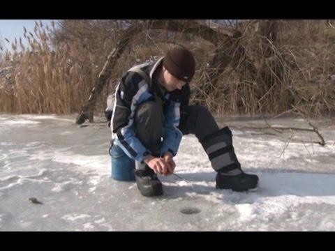 как поймать красноперку зимой на пруду