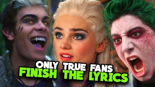 Only True Fans Can FINISH The LYRICS From ZOMBIES 2