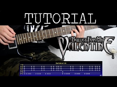 Cómo tocar Hearts Burts Into Fire de Bullet for my Valentine (Tutorial Guitarra) / How to play