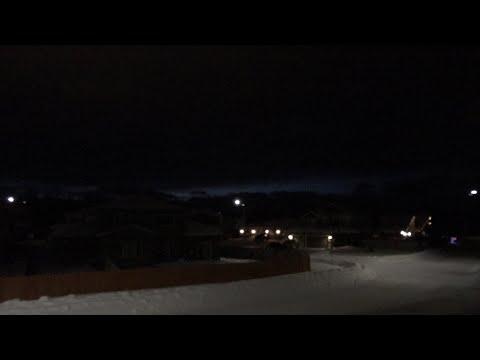 Waiting for sunrise - Anchorage Alaska - March 10th 2018