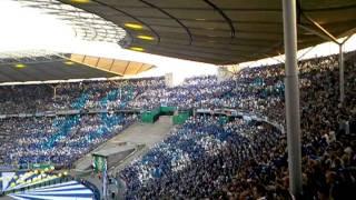 DFB Pokalfinale 20011, Choreo der Duisburg  Fans im Stadion2.mp4