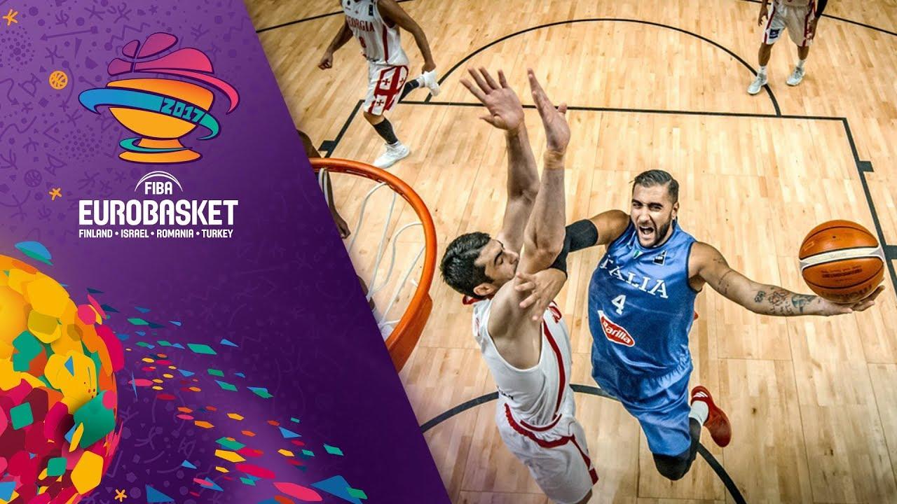 Georgia v Italy - Full Game - FIBA EuroBasket 2017