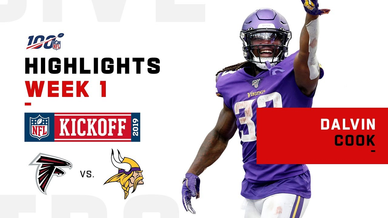 Dalvin Cook Cruises To Victory W 2 Tds 111 Yds Nfl 2019 Highlights