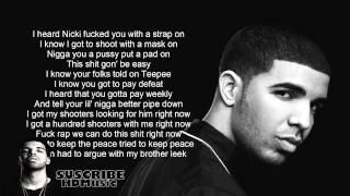 Back to back - Drake (lyrics)