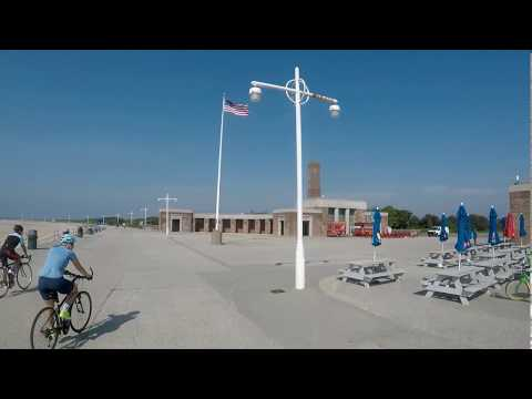 Cycling in Rockaway, Queens, NYC - Highlights from July 27, 2018
