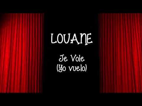 Louane -  Je Vole (Yo Vuelo) Español/Frances LETRAS