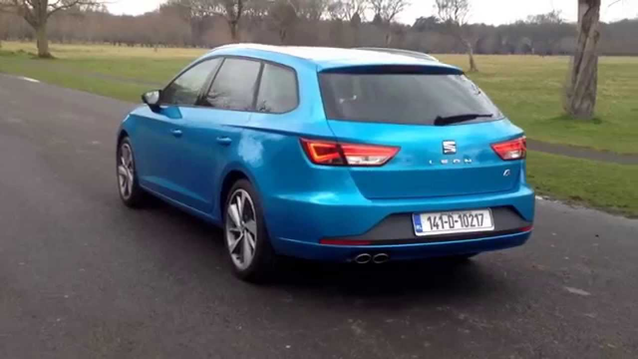 seat leon st fr walkaround youtube. Black Bedroom Furniture Sets. Home Design Ideas
