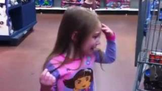 Spoiled Kids in Walmart.  Epic temper tantrum.  Self Control Fail.  Total mayhem rotten little bratz thumbnail