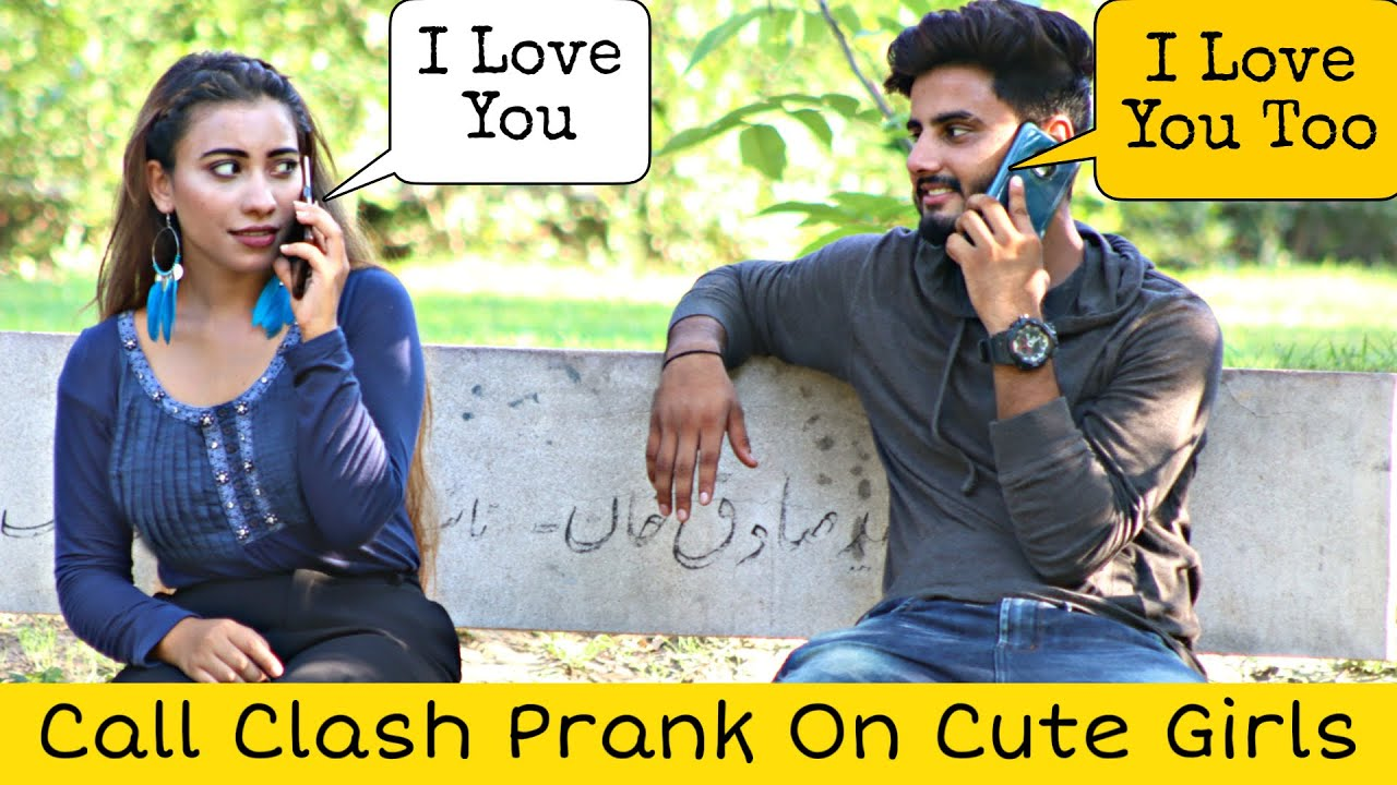 Call Clash Prank on Cute Girls @That Was Crazy