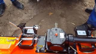 Rider 525 D deck plus bijak plus przyczepa