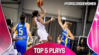 Top 5 Plays | Game Day 1 | EuroLeague Women 2019-20