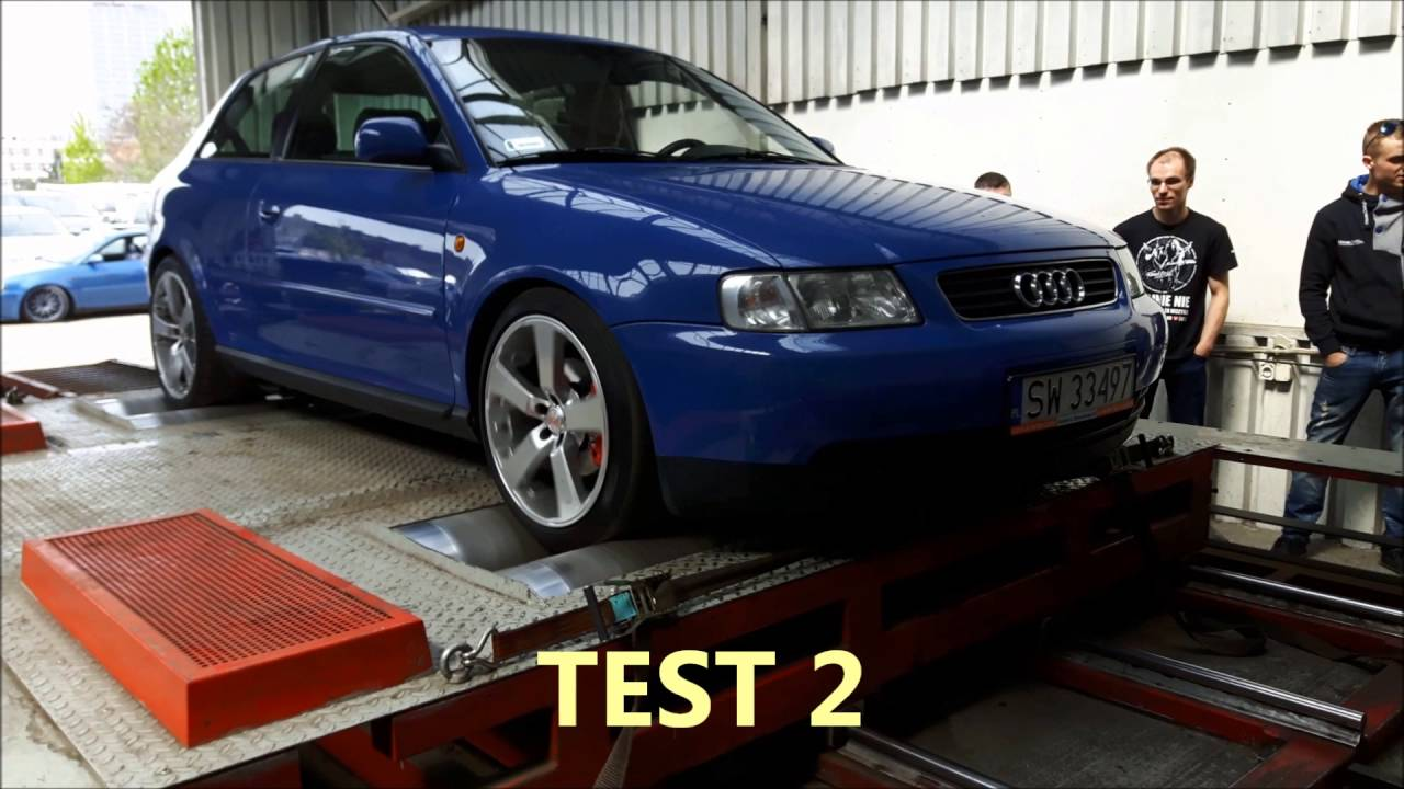 audi a3 8l 1 8t agu 150km dyno test hamownia dyna mite. Black Bedroom Furniture Sets. Home Design Ideas