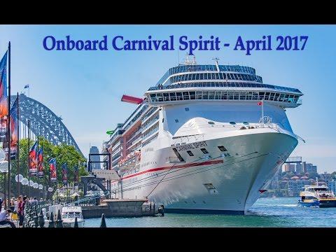 Carnival Spirit - Onboard April 2017