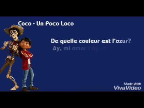 Coco - Un Poco Loco (Lyrics)