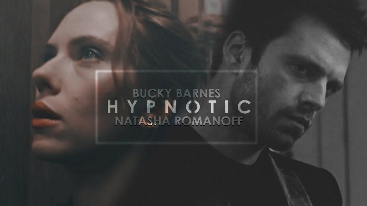 bucky barnes & natasha romanoff | hypnotic