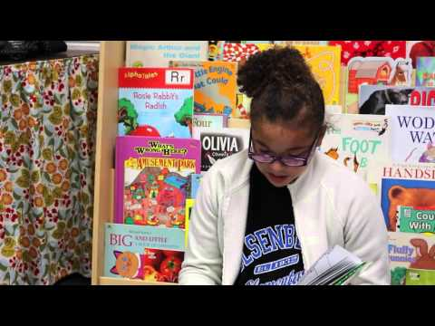 Malcolm, Come Read With Us! Holsenbeck Elementary School