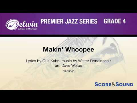 Makin' Whoopee, arr. Dave Wolpe – Score & Sound music