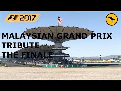 Malaysian GP Tribute The Finale - F1 2017 PC Gameplay