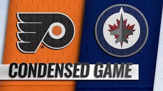 12/09/18 Condensed Game: Flyers @ Jets