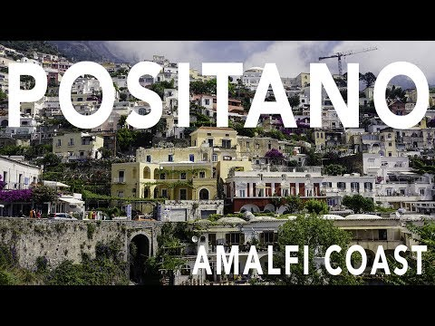 POSITANO AMALFI COAST ITALY TRAVEL VLOG PART 1 w DJI MAVIC PRO