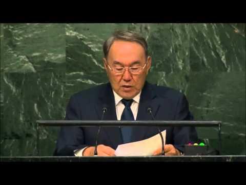 Kazakhstan President: Nursultan Nazarbayev Full Speech at the UN (English)  28th September, 2015