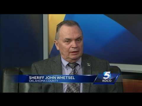 Oklahoma County Sheriff John Whetsel talks about crimes during the holidays