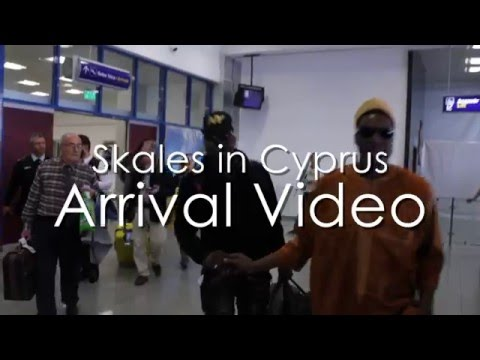 Skales live In Cyprus Arrival Video