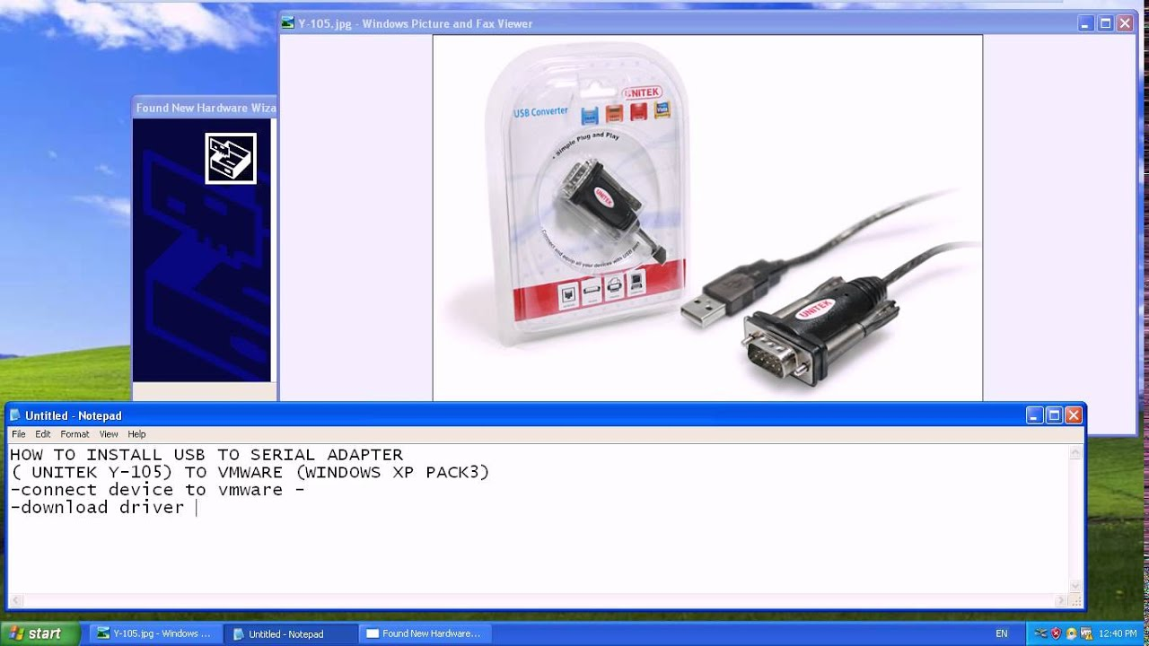 Y-105 USB TO SERIAL ADAPTER WINDOWS 8.1 DRIVER DOWNLOAD